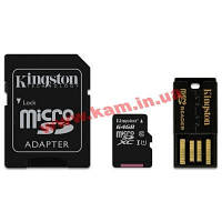 Карта памяти Kingston 64Gb microSDXC class 10 (MBLY10G2/64GB)