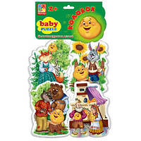 Пазлы для малышей Сказка Колобок Vladi Toys VT1106-36