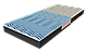Матрац ортопедичний безпружинний NeoBlue/Матрас ортопедический НеоБлю, фото 2
