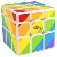 Головоломка Кубик Радужный (Smart Cube 3x3 Rainbow white), фото 1