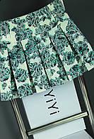 Женская юбка в цветочек, p.s,m