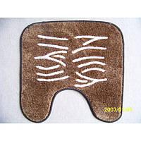 Коврик на резиновой основе в санузел - 57х57 (130-141)