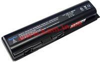 Батарея для ноутбука HP-Compaq CQ40 CQ50 DV6 / 11.1V 5000mAh (55Wh) BLACK ORIG (Model: HSTNN-CB73 ()