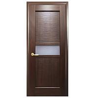 """Дверь межкомнатная """"Рифма"""" Каштан - рисунок Р1 (Новый стиль)"""