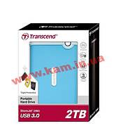 "Внешний жесткий диск TRANSCEND StoreJet 25M3 ( TS2TSJ25M3 ) USB3.0 Portable 2.5"" 2Tb E (TS2TSJ25M3B)"