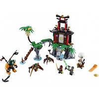 Конструктор Ninja  Остров Тигриных вдов 10461