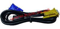 Кабель D-Link DKVM-IPVUCB 1.8м, для DKVM-IP8 (DKVM-IPVUCB)