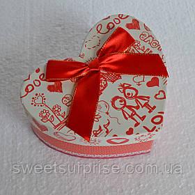Подарочная коробка сердце (для влюбленных)