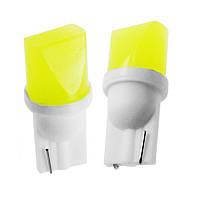 Светодиодная лампа цоколь Т10 (W5W) 3D COB, 12В