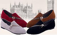 Практические женские туфли. Интересный дизайн. Отличное качество. Купить туфли онлайн. Код: КД150