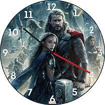 Часы настенные Тор. Рагнарок