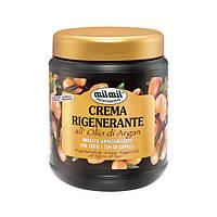 Восстанавливающая маска для волос с маслом аргана - Mil Mil crema rigenerante all'olio di argan 1000ml