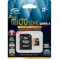 Карта памяти Class 10 UHS| 32GB microSDHC + SD adapter (TUSDH32GUHS03)