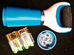 Электрическая роликовая пилка для удаления огрубевшей кожи стоп