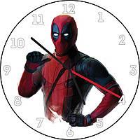 Часы настенные Deadpool
