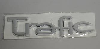 "Надпись ""TRAFIC"" на Renault Trafic 2001->  —  Турция"