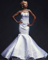 Эксклюзивное дизайнерское свадебное платье
