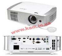 Проектор для домашнего кинотеатра, короткофокусный Acer H7550ST (Full HD, 3000 ANSI L (MR.JKY11.00L)