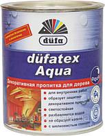 Лазурь Дюфатекс аква (Р) цвет береза 0,75л Dufa