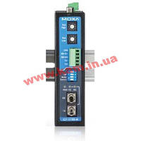 Industrial RS-232/ 422/ 485 to Fiber Optic Converter, ST Single-mode, IECEx Cert (ICF-1150-S-ST-IEX)