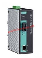 Industrial 10/ 100Base-Tx to 100-Fx Media Converter, Single Mode, SC Fiber Conn (IMC-101-S-SC-T-IEX)