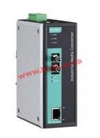 Industrial 10/ 100Base-Tx to 100-Fx Media Converter, Multi Mode, ST Fiber Conne (IMC-101-M-ST-T-IEX)