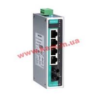 Промышленный 5-портовый неуправляемый коммутатор с 4 х 10/ 100 BaseTX Ethernet, (EDS-205A-M-ST-IEX)