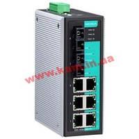 Промышленный 8-портовый управляемый коммутатор: 6 портов 10/ 100 BaseT Ethern (EDS-408A-SS-SC-T-IEX)