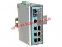 Индустриальный коммутатор с 7 портами 10/ 100 BaseT Ethernet и одним портом 100Bas (EDS-308-S-SC-80)