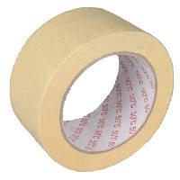 Лента бумажная 38 мм 27 м желтая