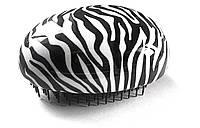 Черно-белая массажная щётка для волос Top Choice 63886