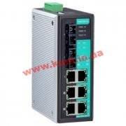 Индустриальный коммутатор с 6 портами 10/ 100 BaseT Ethernet и двумя портами 100Bas (EDS-P308-SS-SC)