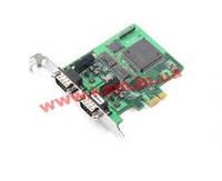 PCI Express адаптер 2-портовый CANbus, c гальванической изоляцией, -40..85C, без кабел (CP-602E-I-T)