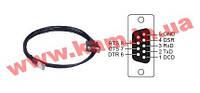Экранированный кабель RJ45 - DB9F, 150мм, ПВХ, 8В (CBL-RJ45SF9-150)