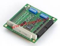 PC/ 104 адаптер 4xRS-232 / 230.4кбод, расширенный температурный диапазон -40..+85C (CA-104-T)