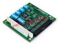 PC/ 104 адаптер 4xRS-232/ 422/ 485, расширенный диапазон рабочих температур -40...+85 C ( (CA-114-T)