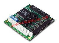 PC/ 104-Plus адаптер 4xRS-422/ 485 c гальванической изоляцией (CB-134I-T)
