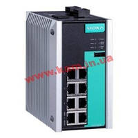 Управляемый full Gigabit Ethernet switch c 8 10/ 100/ 1000BaseT(x) портами, -40...75С (EDS-G508E-T)