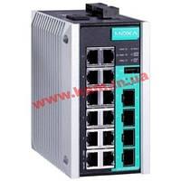 Управляемый full Gigabit Ethernet switch c 12 10/ 100/ 1000BaseT(X) портами и 4 (EDS-G516E-4GSFP-T)