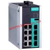Управляемый full Gigabit Ethernet switch c 8 10/ 100/ 1000BaseT(X) портами и 4 100 (EDS-G512E-4GSFP)