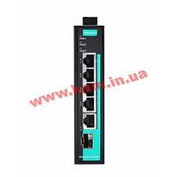 Неуправляемый full Gigabit Ethernet коммутатор с 4 10/ 100/ 1000BaseT(X) портам (EDS-G205-1GTXSFP-T)