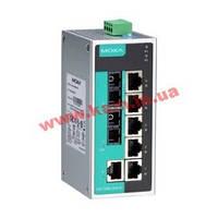 Индустриальный Ethernet коммутатор с 6 портами 10/ 100 Base-T(X) и 2 портами 100 Ba (EDS-208A-MM-SC)