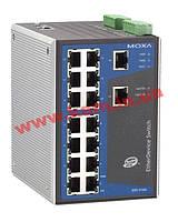 Индустриальный управляемый коммутатор с 16 портами 10/ 100 BaseTx Ethernet (EDS-516A)