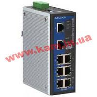 Индустриальный коммутатор с 8 портами 10/ 100 BaseTx Ethernet (EDS-408A-T)