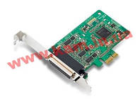 Низкопрофильный адаптер на шине PCIe, 4xRS-232/ 422/ 485, защита от импульсных пом (CP-114EL-I-DB9M)