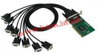 Адаптер на шине Universal PCI 8xRS-232/ 921.6кбод, Female DB62, защита от импульсных пом (CP-168U-T)