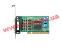 Низкопрофильный адаптер на шине Universal PCI 4xRS-232/ 422/ 485 921.6кбод DB44 с (CP-114UL-I-DB9M)