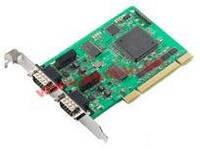 Universal PCI адаптер 2-портовый CANbus, c гальванической изоляцией, 0..55C, без кабеля (CP-602U-I)