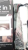 Расческа-выпрямитель с ионизирующим эффектом PTC Heating 2 в 1