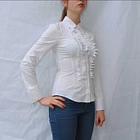 Блузка белая, фото 1